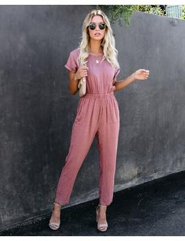 idle-leopard-pocketed-jumpsuit---marsala by vici