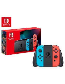 nintendo-switch-joy-con-console-2019---neon-blue_red by nintendo