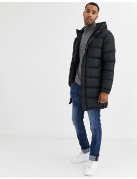 brave-soul-longline-padded-puffer-jacket by asos