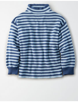 ae-studio-striped-mock-neck-sweater by american-eagle-outfitters