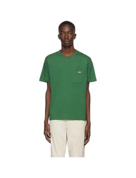 green-logo-pocket-t-shirt by affix