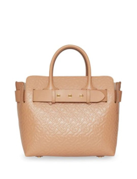 the-small-monogram-leather-triple-stud-belt-bag by burberry