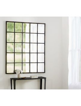 """eagan-multipanel-large-mirror,-44-x-55"""",-bronze-finish by pottery-barn"""