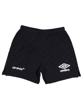 off-white-umbro-knit-shorts-black by stockx
