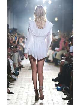 yaxo-button-detailed-cotton-dress by isabel-marant