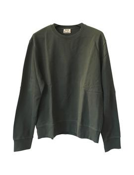 green-cotton-knitwear-&-sweatshirt by acne-studios
