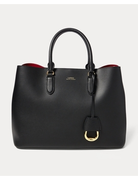 Leather Marcy Satchel by Ralph Lauren