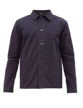 kerlouan-washed-cotton-gabardine-overshirt by apc