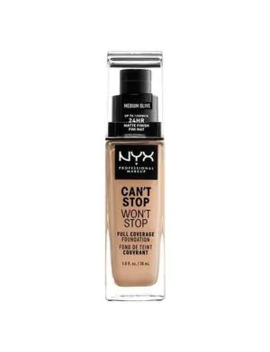 nyx-professional-makeup-cant-stop-foundation-medium-olive by superdrug