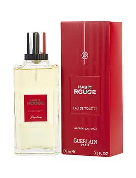 Habit Rouge   Eau De Toilette Spray 3.3 Oz by Guerlain
