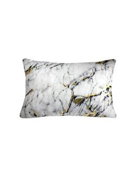 precious-metals-carrera-marble-polyester-indoor-decorative-pillow by edie@home