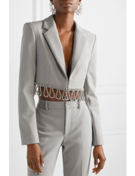 cropped-crystal-embellished-woven-blazer by area