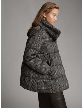 check-down-jacket by massimo-dutti