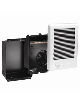 com-pak-1,000-watt-240-volt-fan-forced-in-wall-electric-heater-in-white by cadet