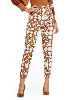 madie-pant---link-print---7th-avenue by new-york-&-company