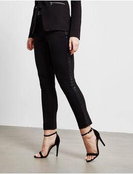 Karl Lagerfeld Punto Tape Trousers by Tessuti