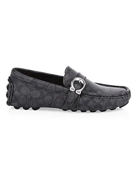 logo-c-strap-driver-loafers by coach