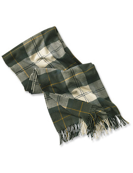 Barbour® Modern Country Tartan Scarf by Orvis