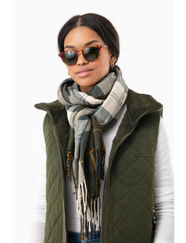 Ancient Modern Country Tartan Scarf by Barbour