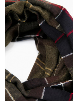 hailes-tartan-classic-wrap by barbour