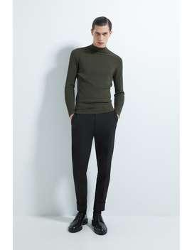pulover-cu-guler-perkins-reiat by zara