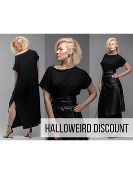 black-maxi-dress-,-oversized-dress-,-infinity-dress-,-plus-size-dress-,-party-dress-a0027 by etsy