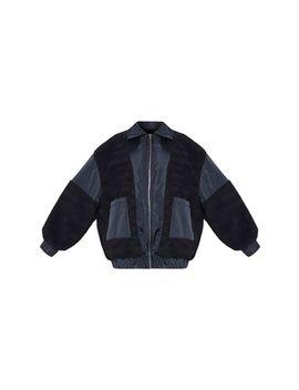 plus-black-borg-contrast-trim-pocket-front-coat by prettylittlething