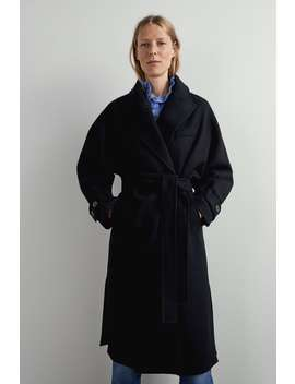 manteau-à-ceinture-collectiontimeless-femme-cornershops by zara