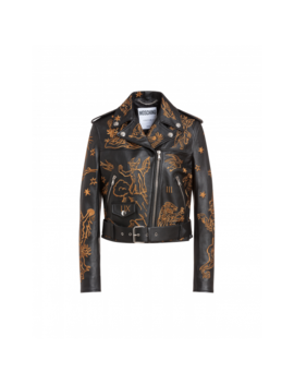 Biker De Piel Mythological Creatures by Moschino