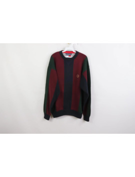 90s-tommy-hilfiger-multi-color-striped-color-block-sweater by tommy-hilfiger  ×