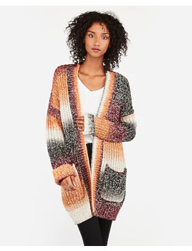 marled-ombre-wool-blend-cardigan by express