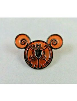 walt-disney-world-disneyland-pin-happy-halloween-mickey-mouse-ears-head-bat-icon by ebay-seller