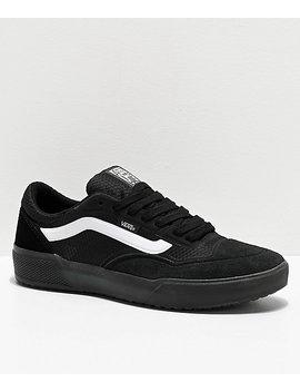 vans-ave-pro-black-&-white-skate-shoes by zumiez