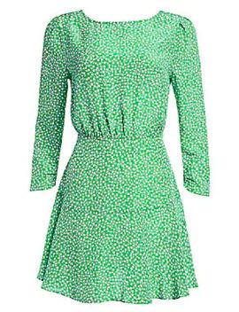kyla-floral-mini-dress by rixo