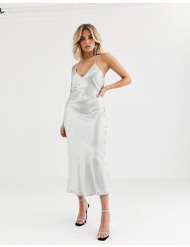 vestire-truth-or-dare-satin-slip-midi-dress by asos