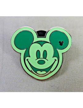 walt-disney-world-pin---hidden-mickey-mouse-series-iii---colorful-mickeys-green by ebay-seller