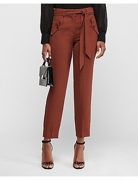 high-waisted-side-button-pocket-paperbag-pant by express