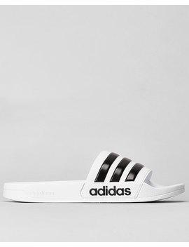 Adidas Originals Adilette Shower Slides White/Black by Adidas Originals