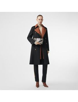 wool-gabardine-trench-coat-with-detachable-warmer by burberry