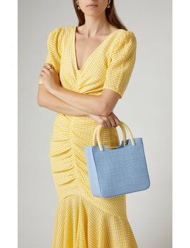 eric-croc-effect-leather-tote by by-far