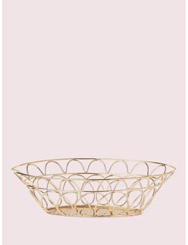 Arch Street Bread Basket by Kate Spade