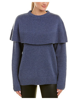 chloé-cape-cashmere-sweater by chloe