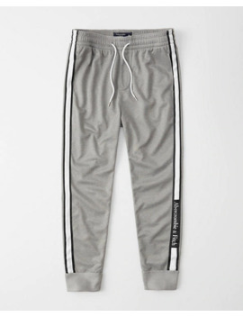 tricot-logo-joggers by abercrombie-&-fitch