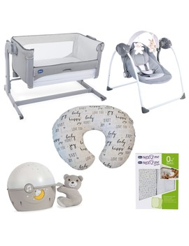 Chicco Champion Next2 Me Magic Bundle (Cool Grey) by Precious Little One