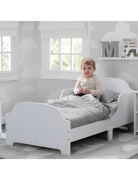 delta-children-toddler-bed-white by smyths