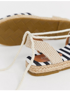 pieces-espadrille-tie-up-sandal by pieces