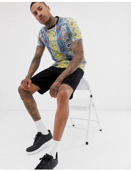 asos-design-relaxed-t-shirt-with-all-over-multi-colour-print by asos-design