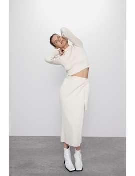 falda-punto-lazo by zara