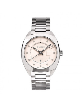 gucci-stainless-steel-diamond-38mm-g-timeless-watch-white by gucci