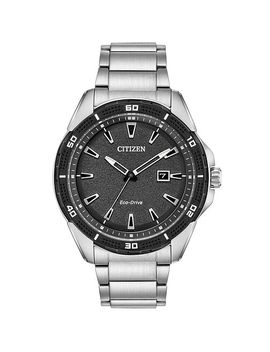 Citizen Eco Drive Men's Stainless Steel Bracelet Watch by H.Samuel
